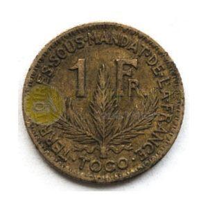 Togo 1 Franc 1924 #2134